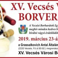 XV. Vecsés Városi Borverseny
