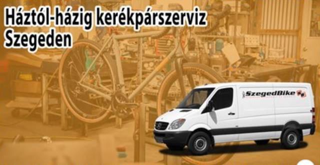 Háztól-házig kerékpárszervíz / Szeged Bike