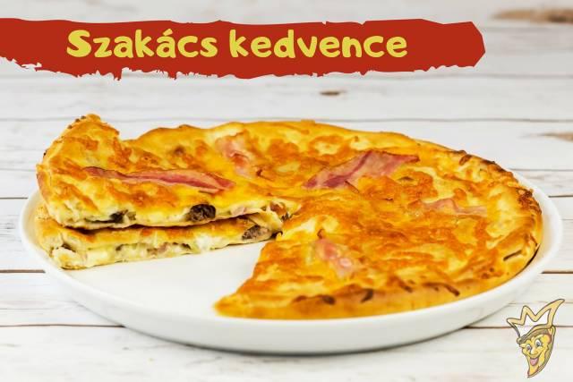 Pizza pite / Pizzakirály