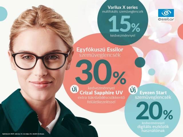 15-30% Erika Optikában!