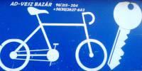 """""""AD - VESZ"""" Kerékpárszerviz - bolt és kulcsmásolás"""