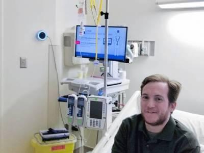 Okoshangszórót telepítettek egy amerikai kórházba