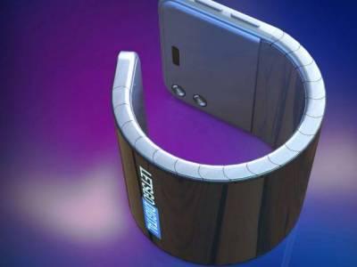 Csuklóra tekerhető okostelefonon dolgozhat a Samsung
