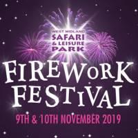 Firework Festival Midland Safari and Leisure Park