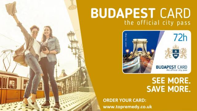 BUDAPEST CARD - SEE MORE, SAVE MORE